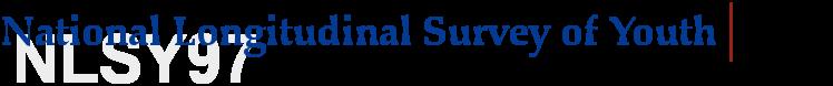 National Longitudinal Survey of Youth - 1997 Cohort